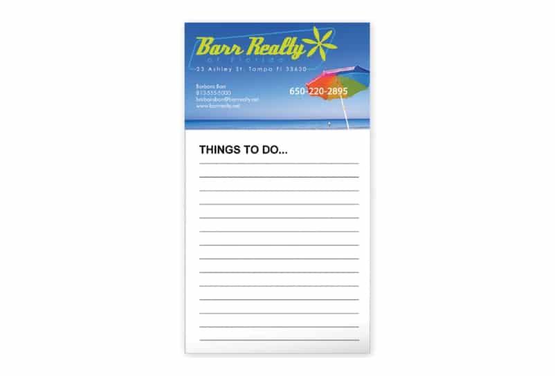 Notepad Fridge Magnets