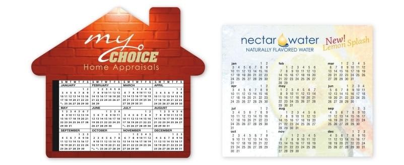 Full Year Calendar Fridge Magnets